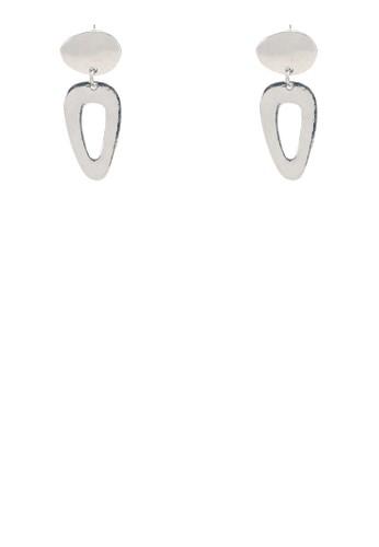 鏤空三角形幾何耳墜, esprit童裝門市飾品配件, 耳釘
