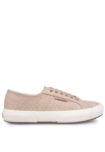 new release online here sports shoes Buy Superga Superga 2750 Anaconda Nude Online | ZALORA Malaysia