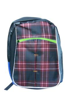 Stripes Unisex Canvas School Bag BackPack BP-98