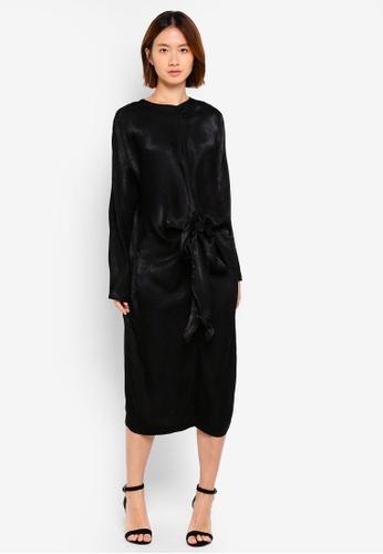 Haute Kelly black Bo-Young Dress B4D7CAAA27A373GS_1
