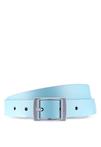 ESPRIT green and blue Leather Belt 6A874AC9C9A372GS_1