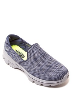 GO Walk 3 - FitKnit Slip On Sneakers