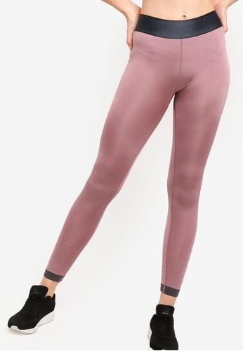 Cotton On Body purple Jacquard Mesh Seamfree Tights 4547DAA55213A6GS_1