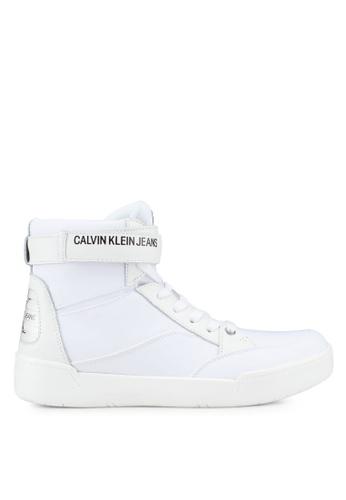 Calvin Klein white Nigel Sneakers FA017SH2112F2AGS_1