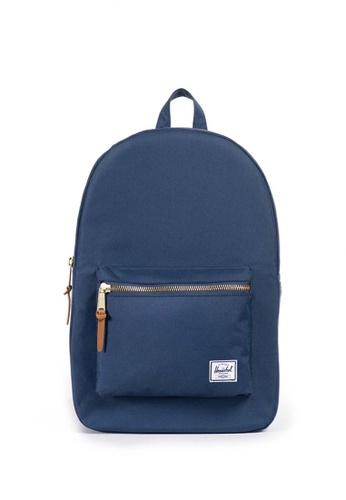 Herschel blue Settlement Backpack AE43CAC64443E9GS_1