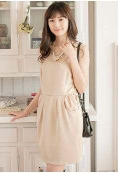 [IMPORTED] Goodwill Taste Refined Dress - Apricot