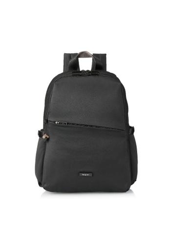 Hedgren black Hedgren Women Cosmos Large Backpack 2 Compt. 13IN Black - 14.6L 36766AC3F503DEGS_1