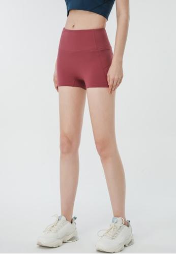 HAPPY FRIDAYS Women's tight Running Shorts (No front crotch  line) DSG202 F55FBAAFBBD49DGS_1