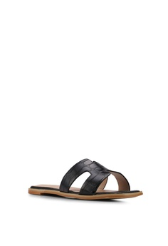 Nose Animal Print Slip-On Sandals RM 89.00. Available in several sizes