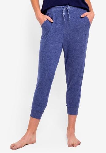 Cotton On Body blue Super Soft Cropped Slim Fit Pants CEC09AA8B5B9C8GS_1
