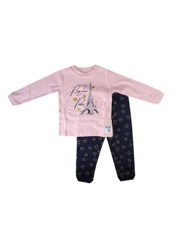 Babybol pink Children Pyjamas Set 1B2B3KAC1F65A8GS_1