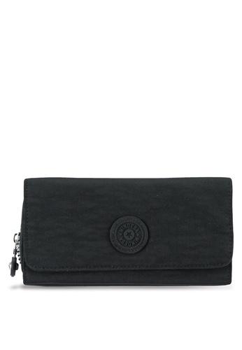 Bagstationz black MDS Crinkled Nylon Tri-Fold Wallet BA607AC0S684MY_1