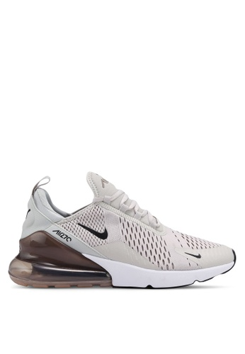 online store 1d7c8 628cf Nike black and grey and white Men s Nike Air Max 270 Shoes  E1DB9SH6BDDFA4GS 1