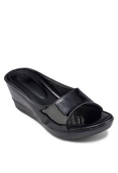 Casual Platform Slip On Wedge Sandals