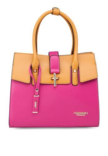 雙色手提包, 包, 購esprit台灣官網物包