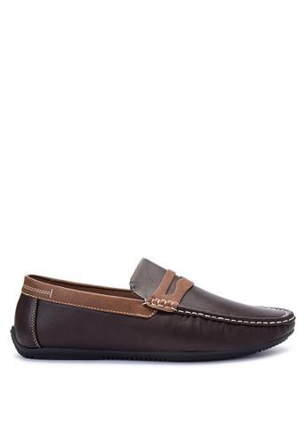H2Ocean brown Nixon Loafers & Moccasins H2527SH0IJC0PH_1