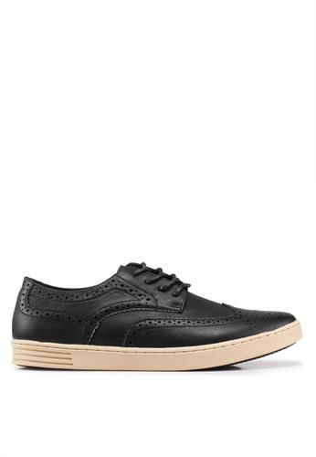 Carlton London 黑色 Smart 休閒Shoes 37080SH7CE7CB1GS_1