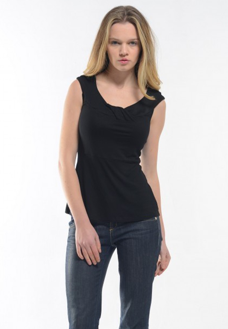 Top Christina in Black Shopsfashion Black AqzSv