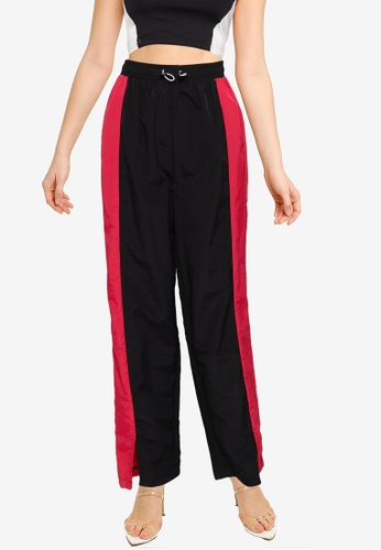 MISSGUIDED multi Toggle Detail Wide Leg Trousers EA615AAC8ACFF0GS_1