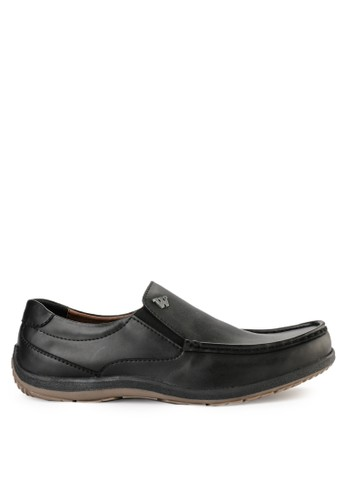Watchout! Shoes black Semi Moccasin 73035SHEC8CDA5GS_1