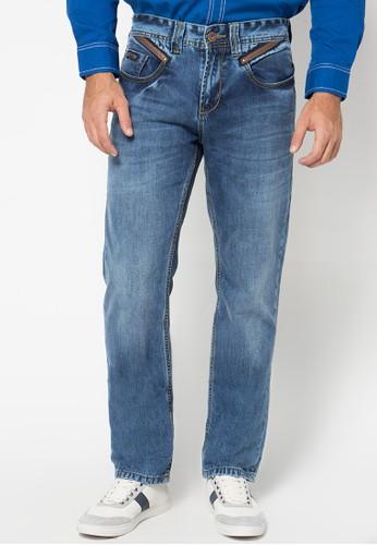 Lois Jeans blue Long Pant Denim LO391AA38KANID_1