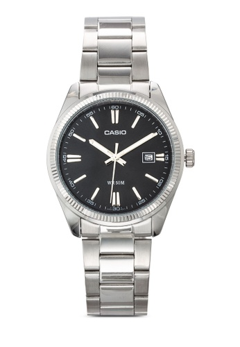 Casio silver Casio General Men's Standard Analog Watch CA843AC81JQCMY_1