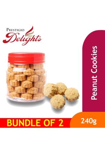 Prestigio Delights CNY Cookies Snacks - Peanut Cookies 240g Bundle of 2 689C9ESB83F98BGS_1