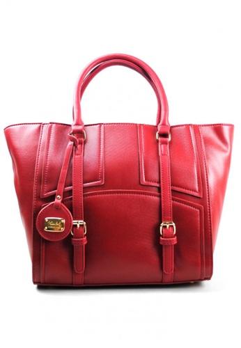 Kimbel International red HGZ27515 Handbag with Sling KI262AC0JCCAPH_1