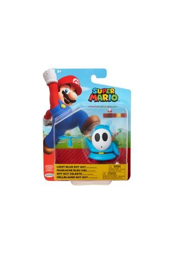 Kidmoro Nintendo Super Mario: W19 LIGHT-BLUE SHY GUY w/ PROPELLER Poseable 4-inch Figure with Accessories BB987ESF2289C7GS_1