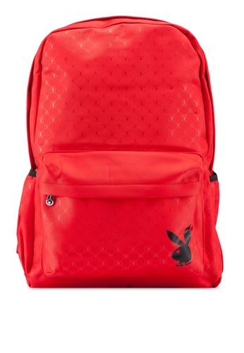 d15b1cde23d6 Buy Playboy Logo Printed Backpack Online on ZALORA Singapore