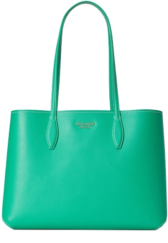 KATE SPADE green Kate Spade All Day Large Tote Bag in Yucca 097FEAC6D6C2D9GS_1