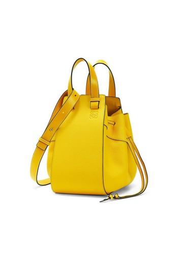LOEWE yellow Loewe Small Hammock Shoulder Bag in Yellow 92A9DAC77DB467GS_1