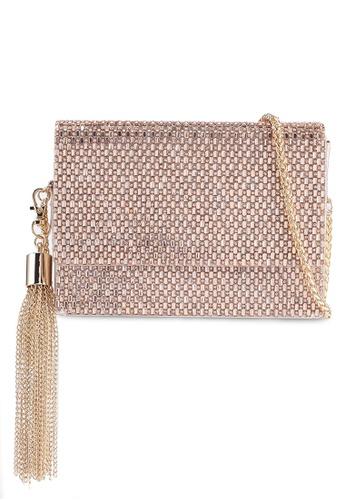 ALDO gold Pink Peony Sling Bag 0A206AC811E204GS_1