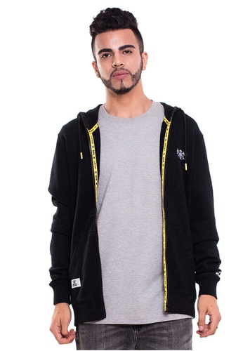 Reoparudo black RPD Reflective Cross Space Edition Zip Hoodie (Black) RE413AA0GZKSSG_1