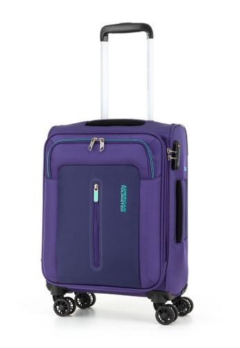 American Tourister purple American Tourister Limo Spinner 55/20 EXP TSA EC Luggage DDAE7ACD4841F0GS_1