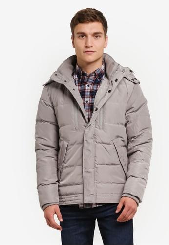 ESPRIT grey Outdoor Woven Regular Jacket ES374AA0RWHQMY_1