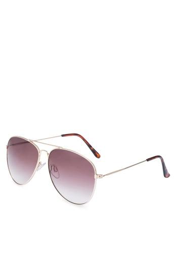 Call It Spring gold Wijdesteeg Aviator Sunglasses 6CA14GLFBEFE18GS_1