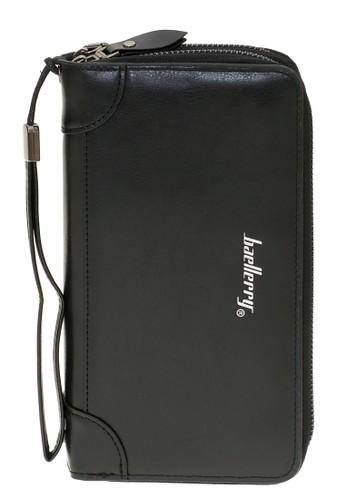 Baellerry black Dompet Pria Model Panjang Casual Men Wallet Many Slot Material Kulit ORIGINAL D896AACFF77729GS_1