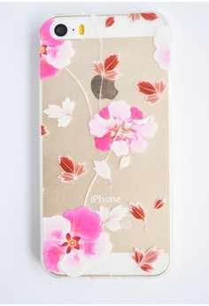Orchids Transparent Soft Case for iPhone 5/5s
