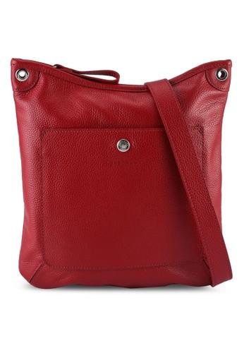 LONGCHAMP red Le Foulonné Crossbody Bag (zt) 9AA0DAC2792C12GS_1