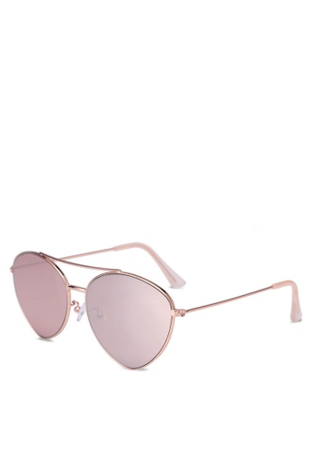 Rubi gold Olivia Fashion Aviator Sunglasses 71FBBGL35C9A63GS_1