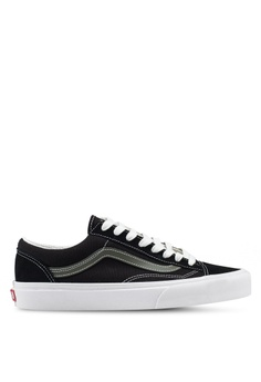 5a063f1445 Available in several sizes · VANS black Style 36 Vintage Sport Sneakers  379E1SH79B82C0GS 1