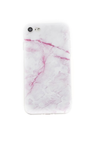 Fancy Cellphone Cases multi Marble Soft Transparent Case for iPhone 7 FA644AC76HUXPH_1