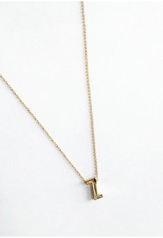 Z Stainless Letter Necklace