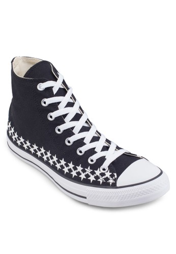 Chuck Taylor Alesprit 衣服l Star Americana Star Print Sneakers Hi, 女鞋, 鞋