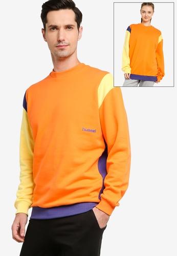 Hummel orange Multi Color Sweatshirt 1B65EAA04AA1C7GS_1