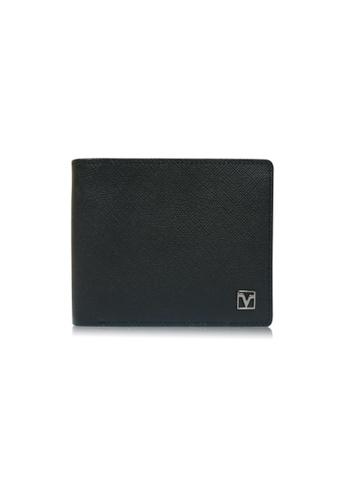 Valentino Rudy black Valentino Rudy Saffiano leather Wallet With Coin Compartment VA677AC08TZZSG_1