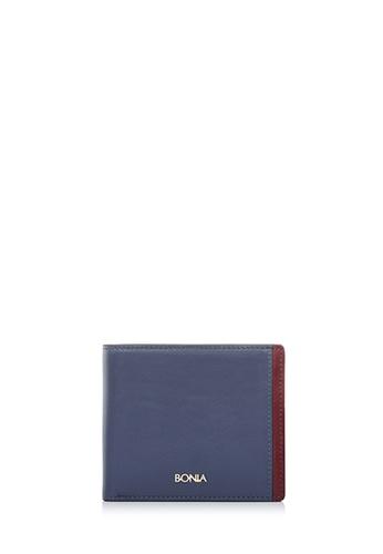 BONIA grey Medium Grey Astor Short Two Fold Wallet D1092ACA767081GS_1
