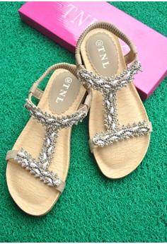 TNL Reina Sandals (Beige)