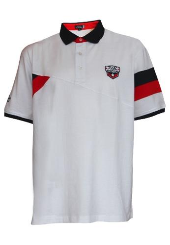 Royal Extrema white Royal Extrema Men Big Size Polo Short Sleeve Racing Cut & Sew T-Shirt 0XL-6XL Plus Size 0XL-6XL RE2030 (White) 01CF1AAF456F3EGS_1